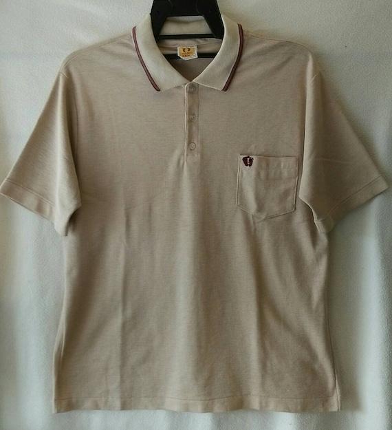 Rare vintage 60s 70s Hang Ten Hawaii polo shirt, v