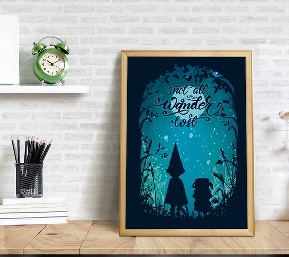 image 0 - Over The Garden Wall Poster