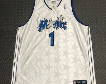 b1dc8e8ae Vintage NWT Reebok Authentic Orlando Magic Tracy McGrady jersey