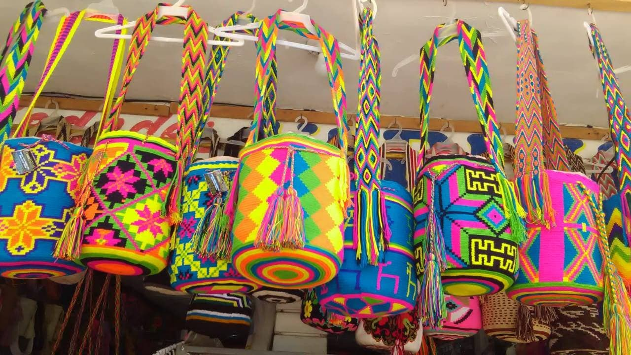 cf29d480d4a Colorful Wayuu Mochila Bags with more than 35 Designs you | Etsy
