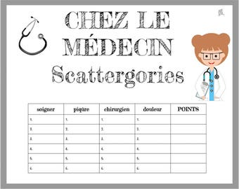 photograph about Scattergories Junior Lists Printable titled January Vocabulary Scattergories Activity Printable obtain Etsy
