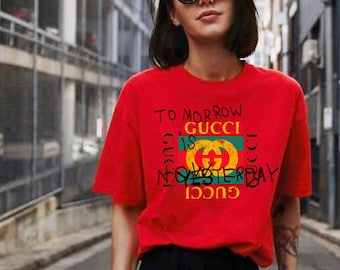 Gucci belt x Coco - Tommorow is no - Red T-shirt