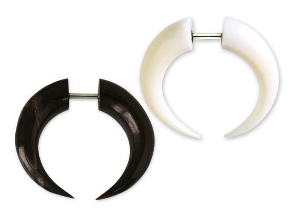 Ein piercing-streuer oder expander Bufallo schwarz 2 mm bis 8 mm