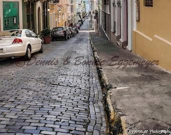 San Juan, Puerto Rico, Old Juan,travel, Caribbean,Island,cobblestone, streets