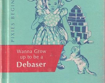 "Pixies ""Debaser"" Dick & Jane Un Chien Andalou Mashup Art Print"
