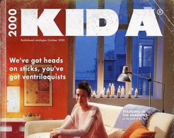 "Radiohead ""Kid A"" Ikea Catalogue Mashup Print"