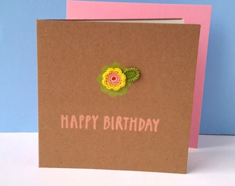 Birthday Card Handmade Birthday Card Birthday Card Mum Etsy