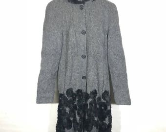Vintage Long Jacket Made in Italy