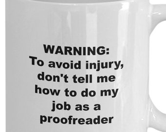 Reading is my superpower mug, i love my white collar job mug, gift for proofreaders, men, women, coffee tea cup