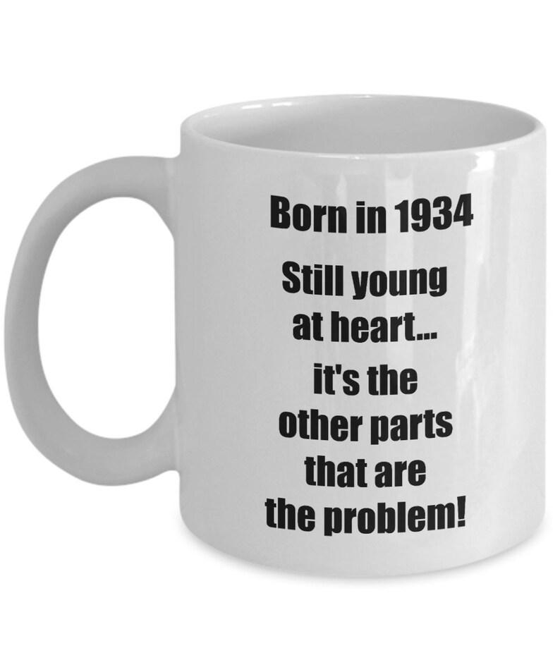 34b3f099f10 Happy 85th birthday mug 85 year old gift for women men coffee