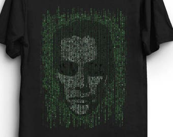 The Anomaly - The Matrix T-Shirt - Neo The One - Action Movie
