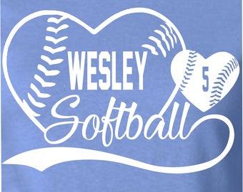 Wesley Softball Tshirt