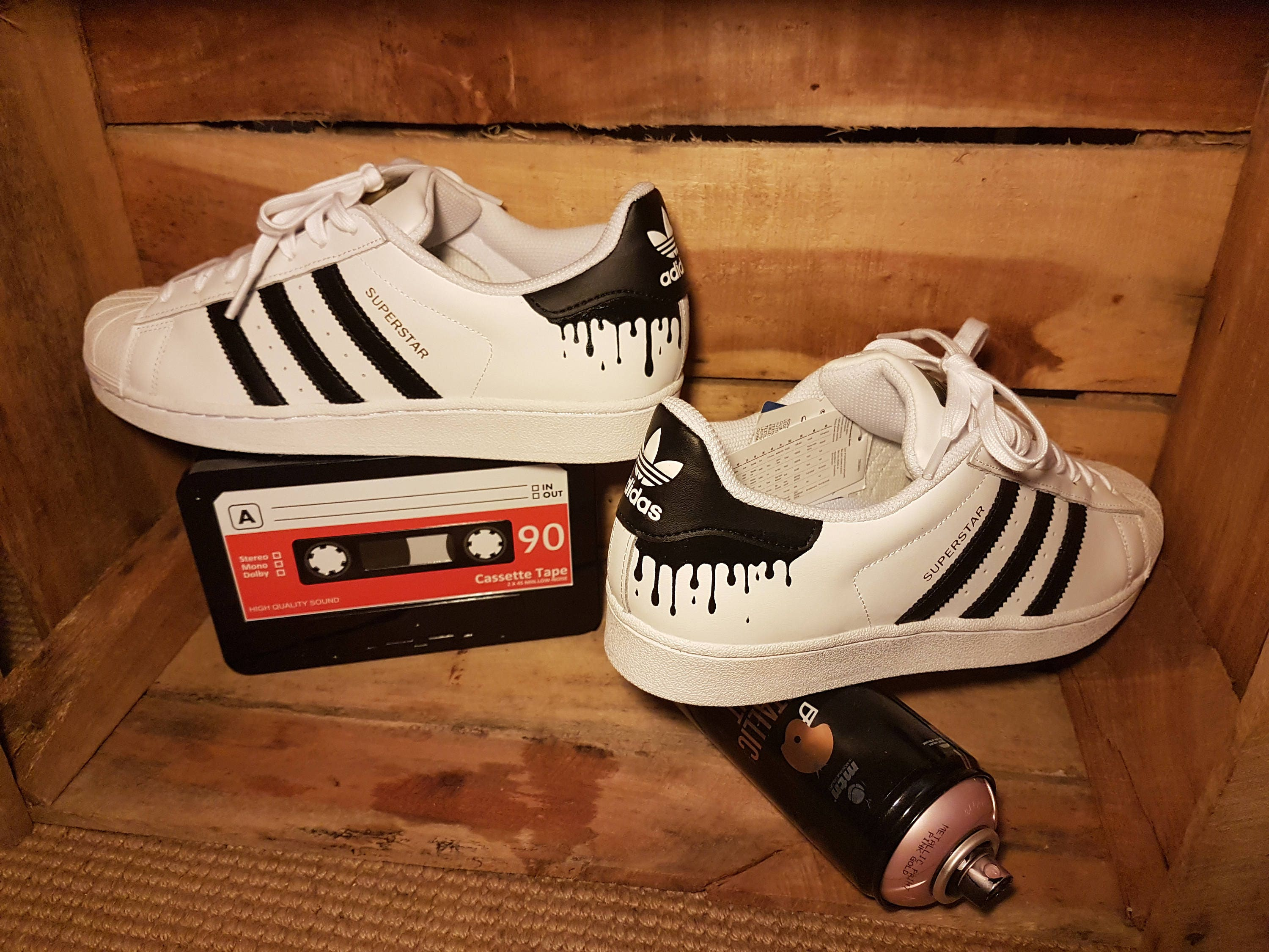 f8cadf9384bc Adidas Superstar Custom personalized sneakers for swift