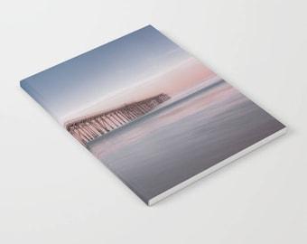 Pier notebook, Beach Pier Notebook, ocean pier journal, bullet journal, pocket journal, beach notebook, ocean journal