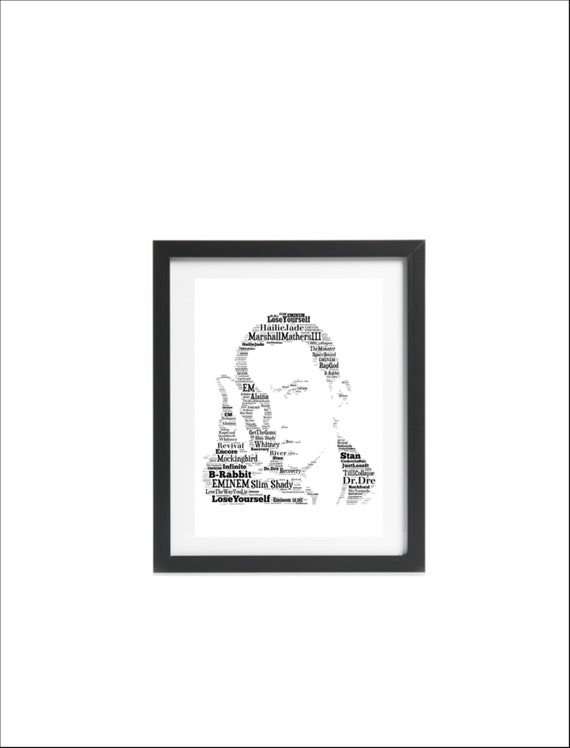 Eminem 12 American Rapper Poster Music Legend Star Photo King of Hip Hop Print