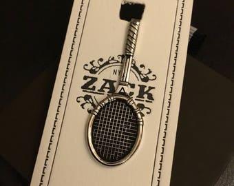 Zack Tennis Racket Tie Clip