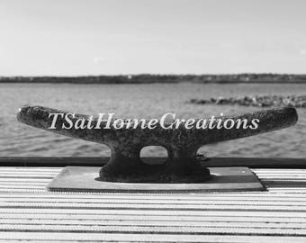 SOBX dock cleat 5x7 matted photo/print
