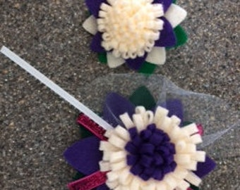 Corsage with Boutonniere
