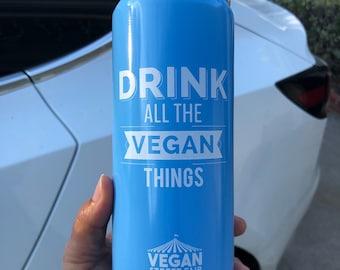 Aluminum Bottle - Drink All The Vegan Things