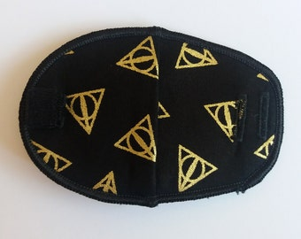 Harry Potter reusable cloth fabric eye patch for children with lazy eye, squint, amblyopia, glasses