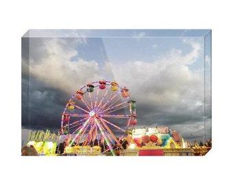 The Carnival Acrylic Block