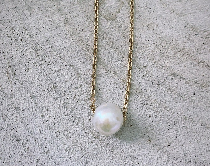 """""""One pearl"""" necklace"""