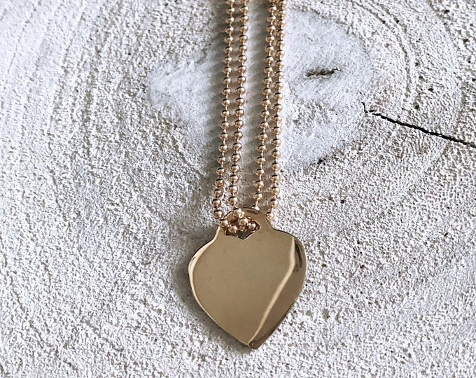 """Brave heart"" necklace"