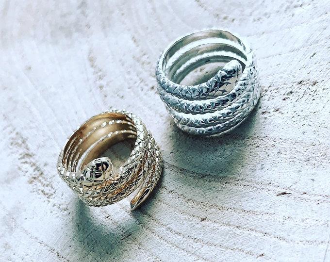 """Viper"" Ring"