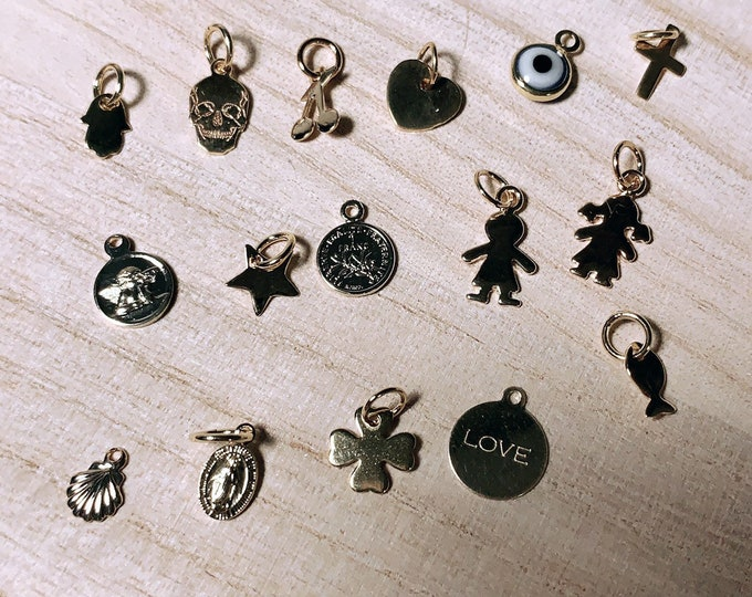 "Charms ring ""dream catcher"" and ""lock-it"""
