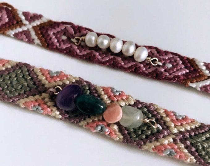 """""""Brasil-Pearl"""" bracelet"""