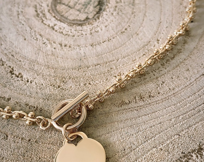 """""""All I want..."""" necklace"""