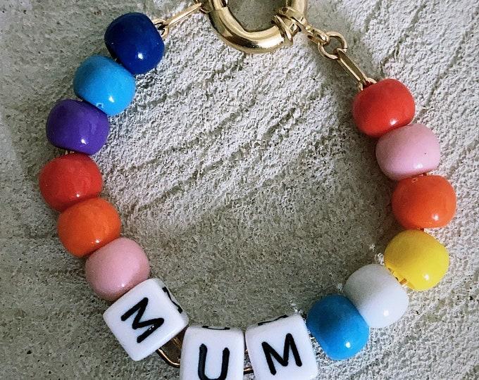 """""""Mum color"""" bracelet"""