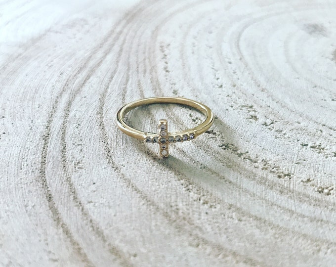 """""""Crucifix"""" ring"""