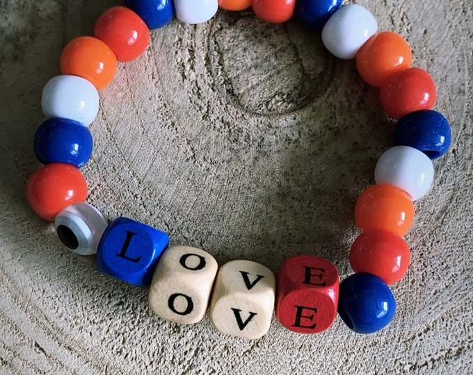 """BIG color word"" bracelet"