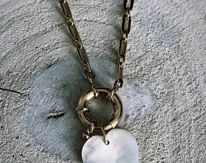 """Buoy heart"" bracelet"