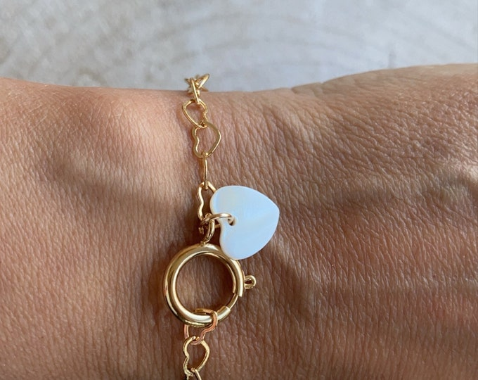 """Thousand hearts"" bracelet"