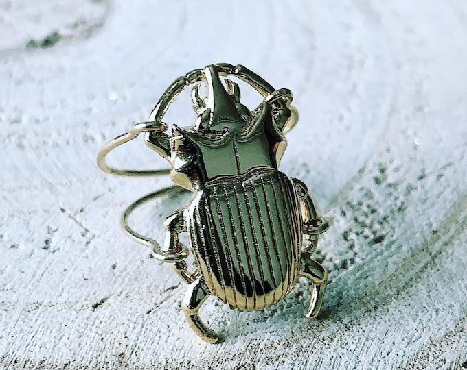 "Ring ""BB"" Big beetle"
