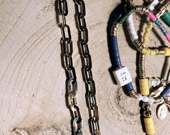"""Flat chain"" bracelet"
