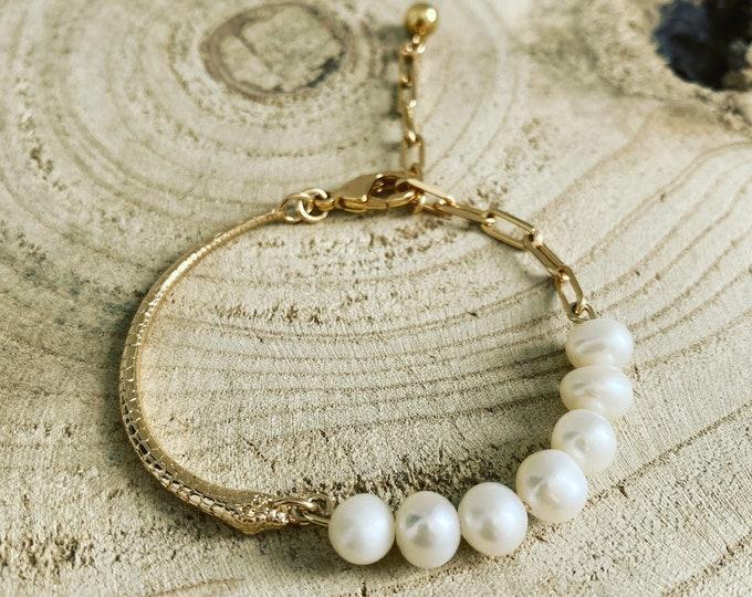"""""""Snake pearl"""" bracelet"""