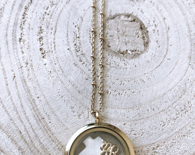 """My precious"" Locket necklace"
