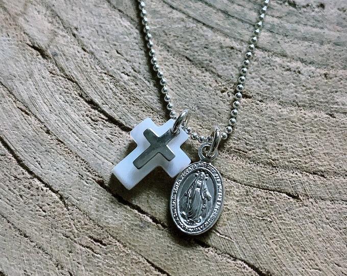 """""""Prayer"""" necklace"""