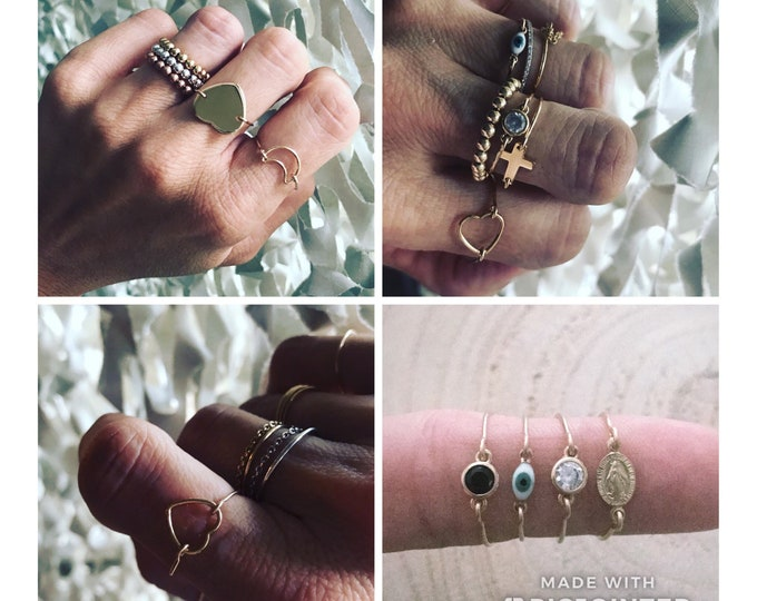 "Ring ""Mini charms"""