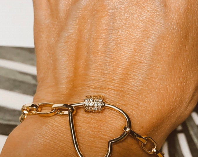 """Locked Love"" bracelet"
