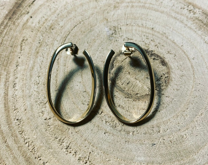 """Hoops"" earrings"