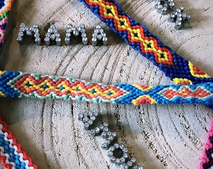 """Brasil-word"" bracelet"