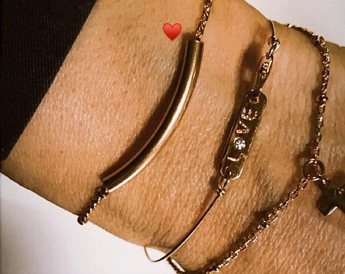 """""""Tube"""" bracelet"""
