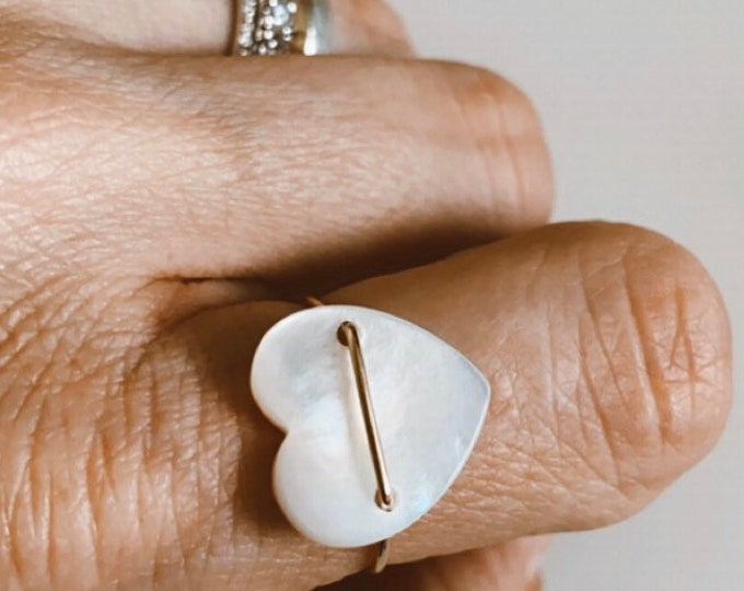 "Ring ""Love in white"""