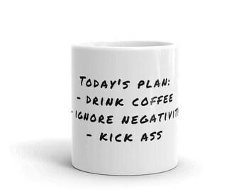 Today's Plan. Coffee Mug.