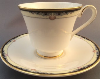 Royal Doulton Rhodes Tea Cup and Saucer