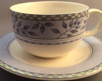 Royal Doulton Rivoli Tea Cup and Saucer